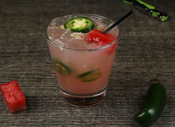 Spicy Watermelon Fresca