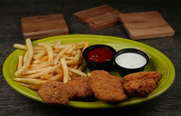 Dedos de Pollo y Papitas