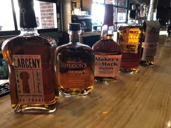 Assorted liquors