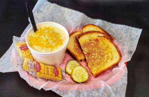 Potato Soup & Grilled Cheese