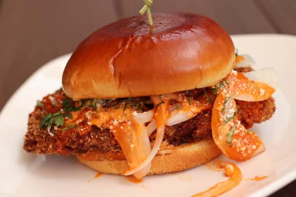 Craft House Chicken Sandwich - Hot