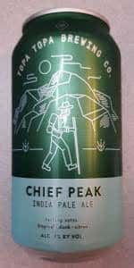 Chief Peak IPA Growler