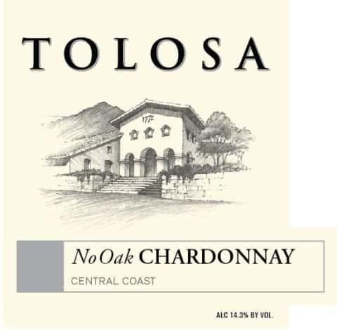 Tolosa No Oak Chardonnay