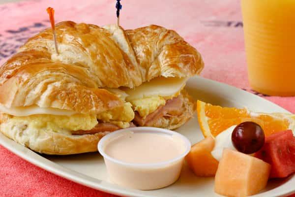 Breakfast Croissant Melt