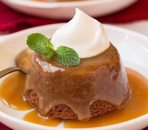 Warm Toffee Pudding