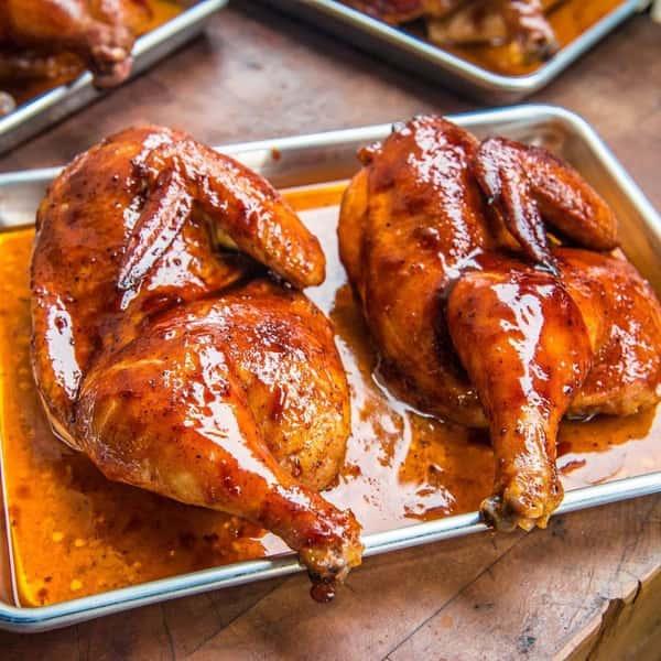 BBQ Half Chickens