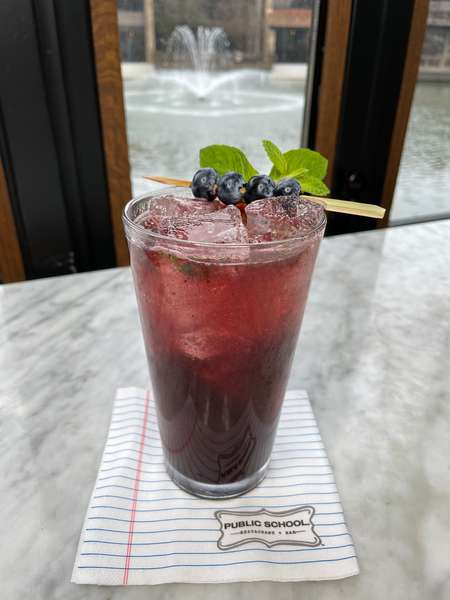 Tropical Berry Lemonade