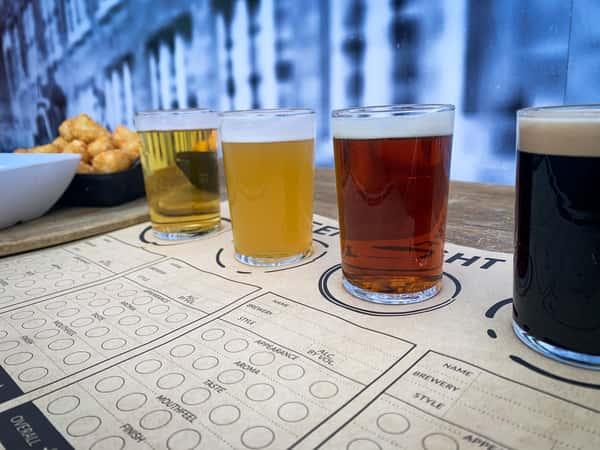 Draft Beer Flight
