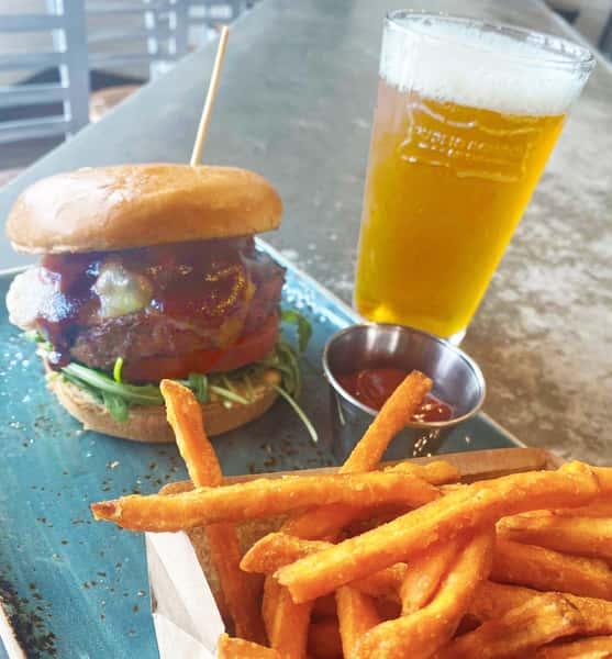 Backyard BBQ Burger*