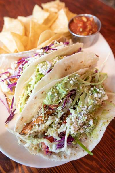 S.O.B. Grilled Fish Tacos