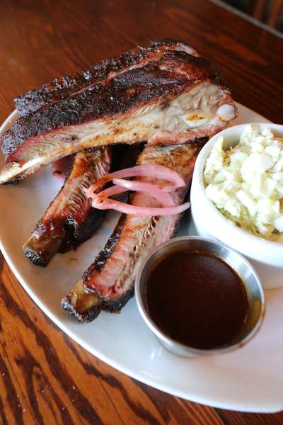 Weekly Twisted BBQ Special -Coffee Chipotle Rubbed Spareribs