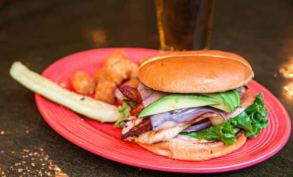 Charlies Bar and Grill Burger 2