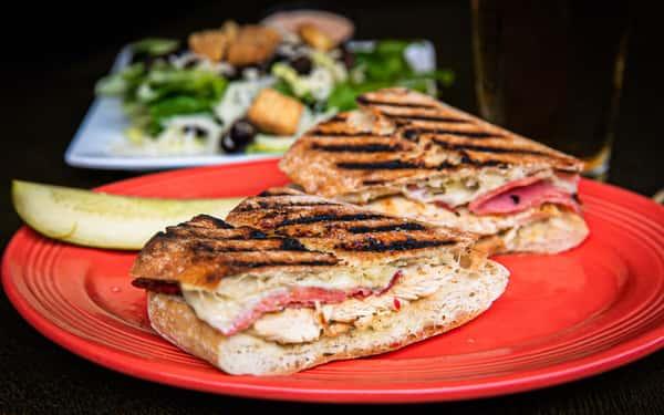 Chicken Saltimocca Panini