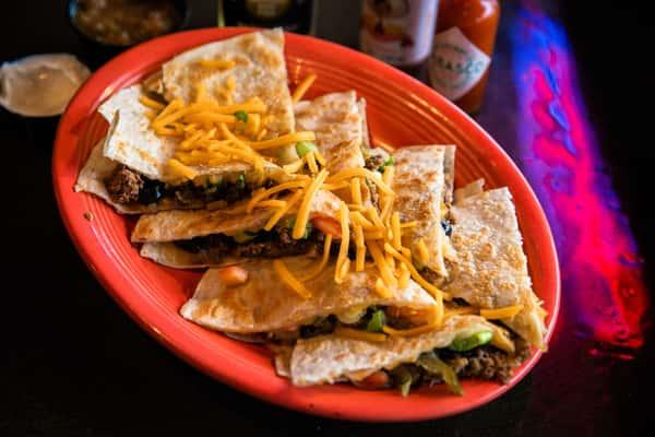 Charlies Bar and Grill Quesadilla