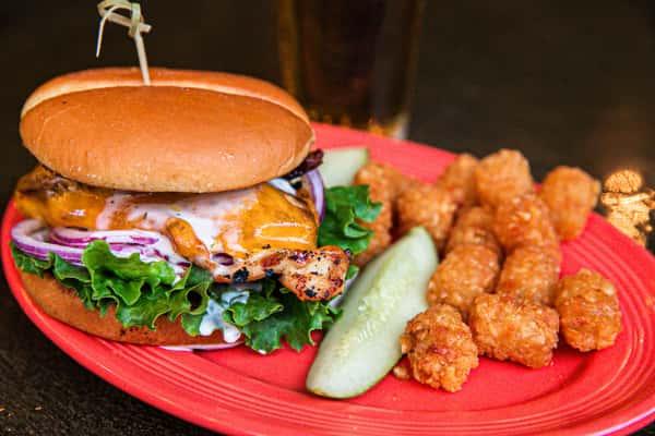 Rancher's Chicken Burger