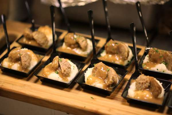 Butler Style Passed Hors D`Oeuvres