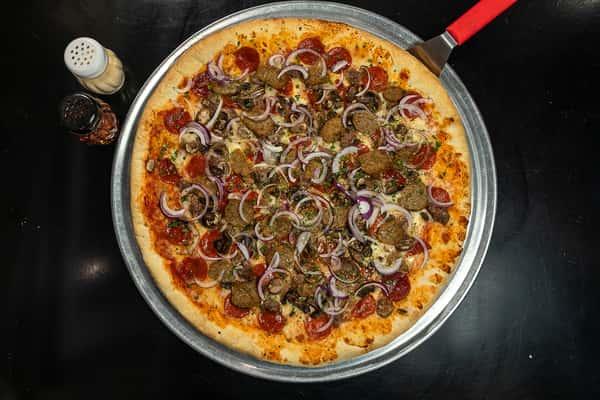 Garbage pizza 4SM