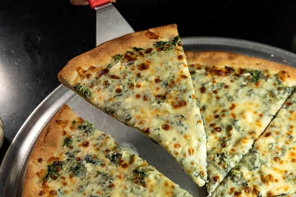 Spinach & Feta pizza 6SM