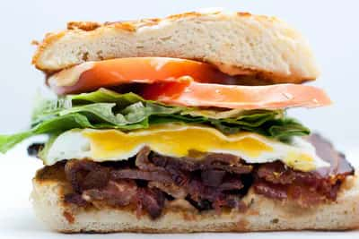 BYOBS - Build Your Own Breakfast Sandwich