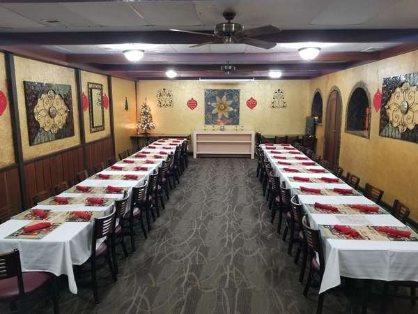 Private Event Room decorated