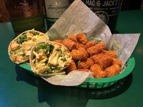 Erin's Caesar Salad Wrap