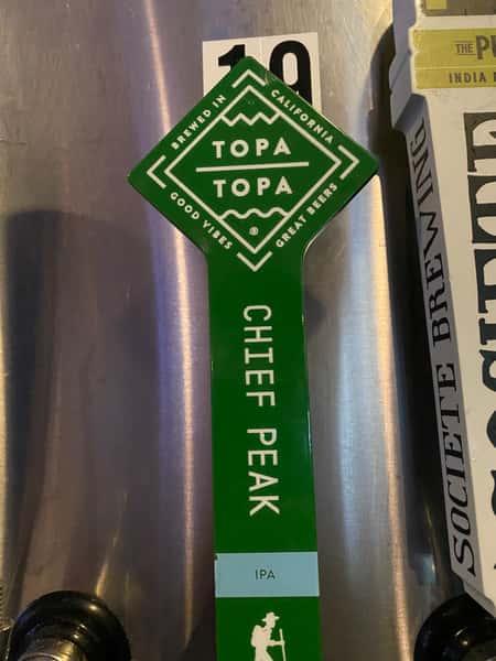 Cheif Peak IPA - Topa Topa Brewing- 7%