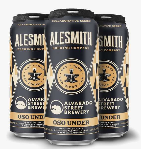 Oso Under IPA- Alesmith & Alvarado Street Brewing Company- 7% Can