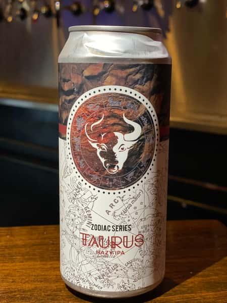 Taurus Zodiac Series Hazy IPA - Chapman Crafted Beer 7.0%