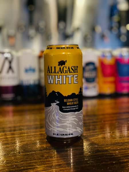 Allagash White Ale- Allagash Brewing Company- 5.2% Draft