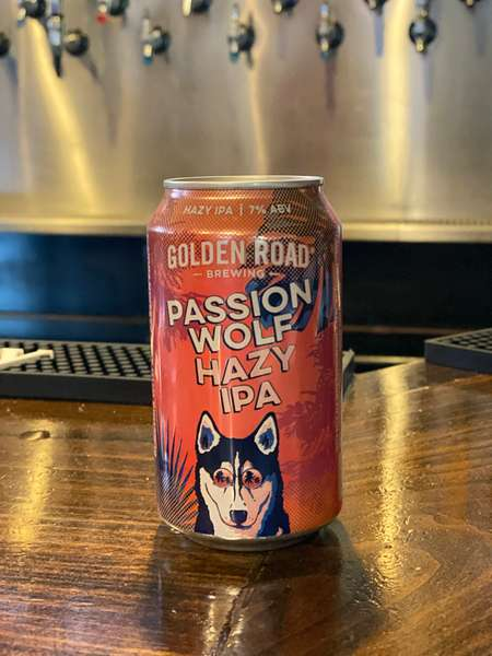 Passion Wolf Hazy IPA - Golden Road Brewing - 7%
