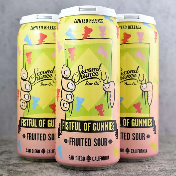 FistFull of Gummies Wild Ale- Second Chance Beer Co.- 5% Draft