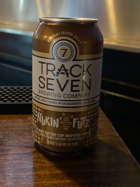 Nuckin Futz Peanut Butter Porter - Track Seven Brewing - 7.3%