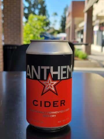 Anthem Cider- Wandering Aengus Ciderworks- 5.5% Can