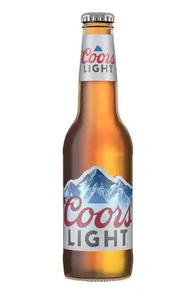 Coors light 12oz bottle
