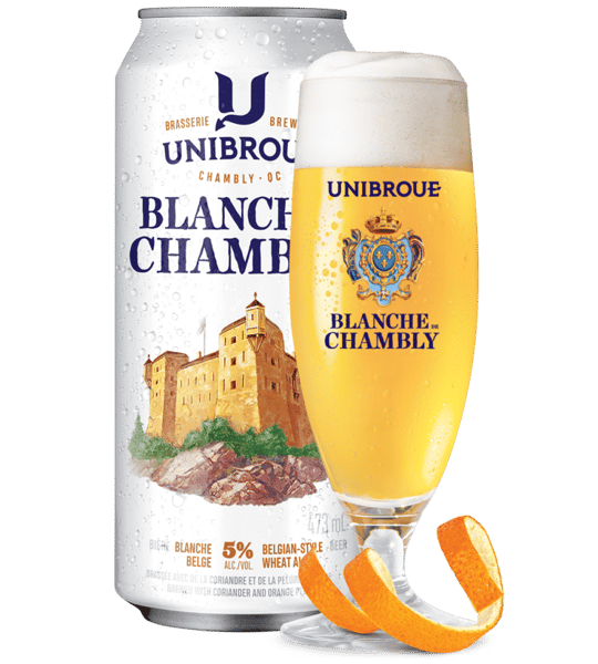 Blanche de Chambly Witbier- Unibroue -5% Draft