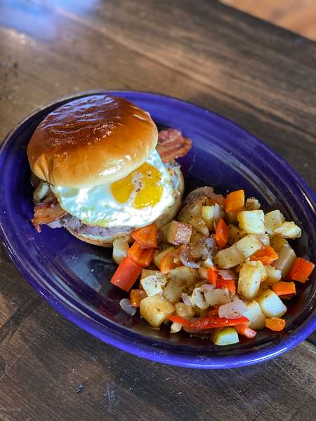 """Rise & Shine"" Burger"