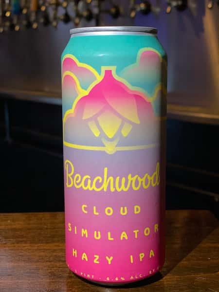 Cloud Simulator Hazy IPA - Beachwood Brewing - 6.6% Draft