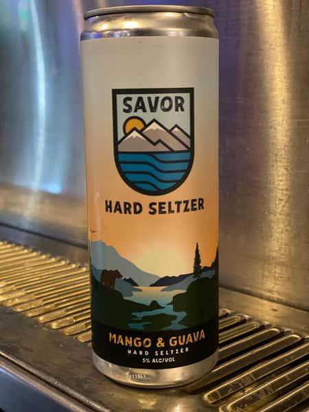 Savor Mango Guava Hard Seltzer- Chapman Crafted 5%