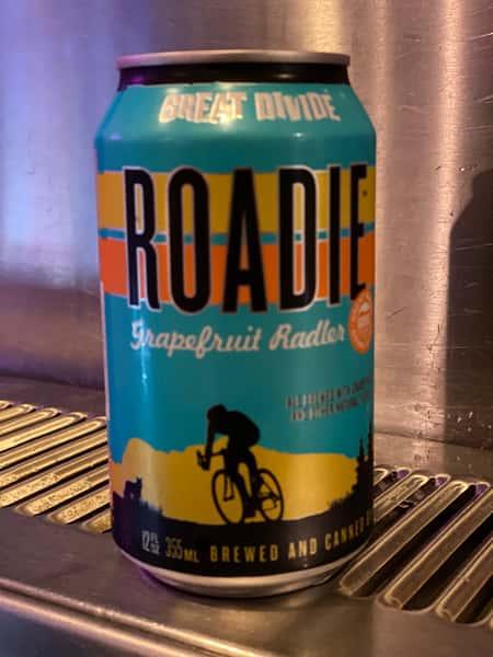 Roadie grapefruit Radler - Great Divide Brewing - 4.2% Can