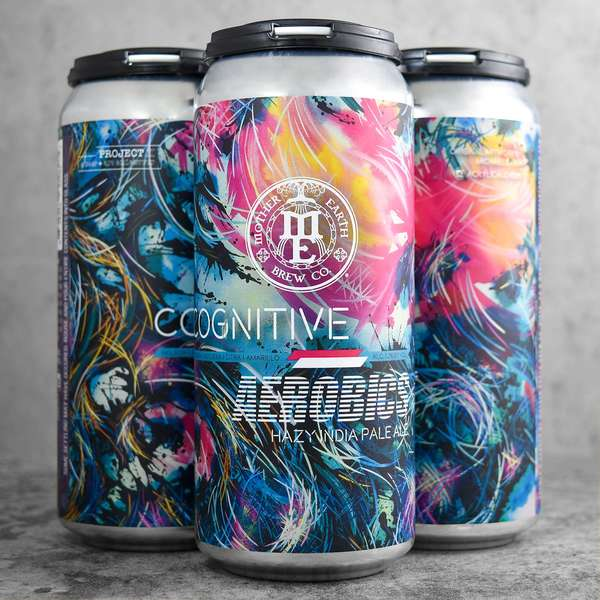 Cognitive Aerobics Hazy IPA- Mother Nature Brew Co. - 7.2% Can
