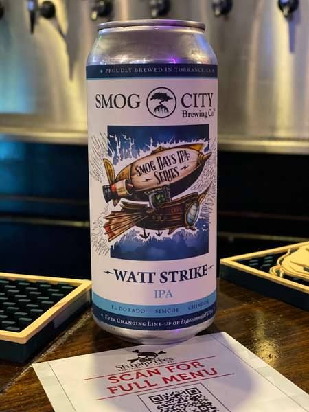 Watt Strike IPA - Smog City Brewery - 7% CAN