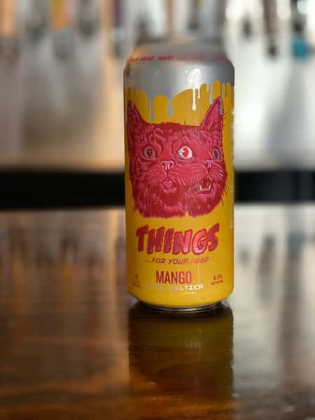 Things Mango Hard Seltzer -Brouwerij West 6.5%