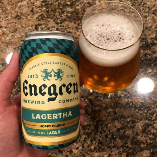 Lagertha Hoppy Pilsner - Enegren Brewing - 5% Draft