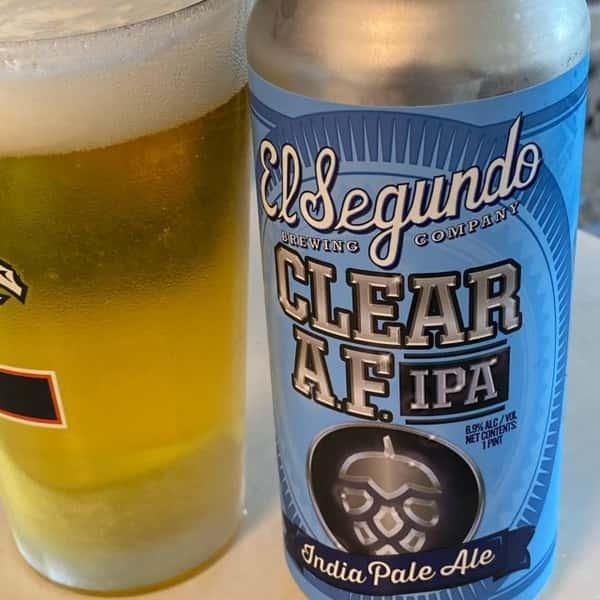 Clear A.F. IPA- El Segundo Brewing Co. - 7% Draft