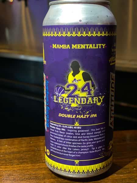 Legendary 24 Hazy DIPA - Attitude Brewing - 8.6% 16oz Can