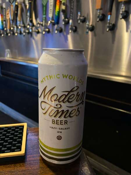 Mythic Worlds IPA - Mordern Times Brewing - 7.5%