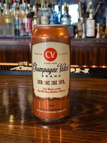 Champagne Velvet Pilsner - Upland Brewing Co. - 5.2% Can