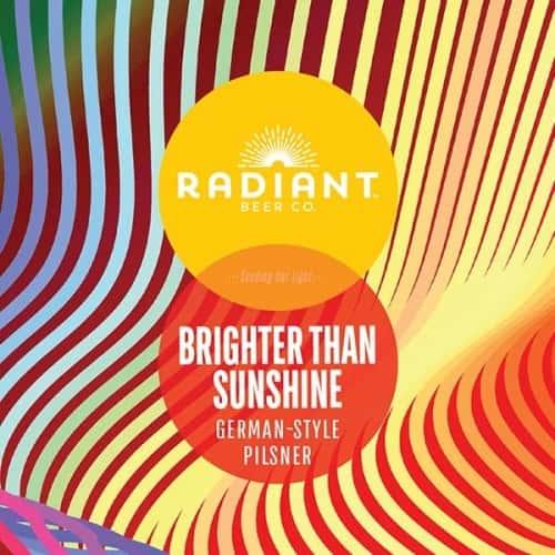 Brighter than Sunshine Pilsner- Radiant Beer Co. -5.4% Can