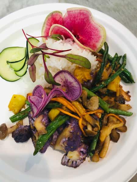 Mushroom Medley Stir Fry (Side Dish)