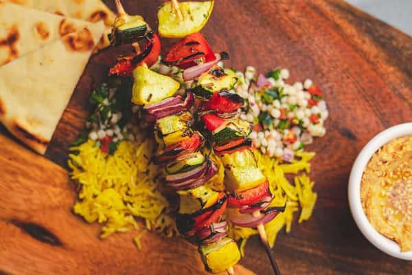 Kebab di verdure